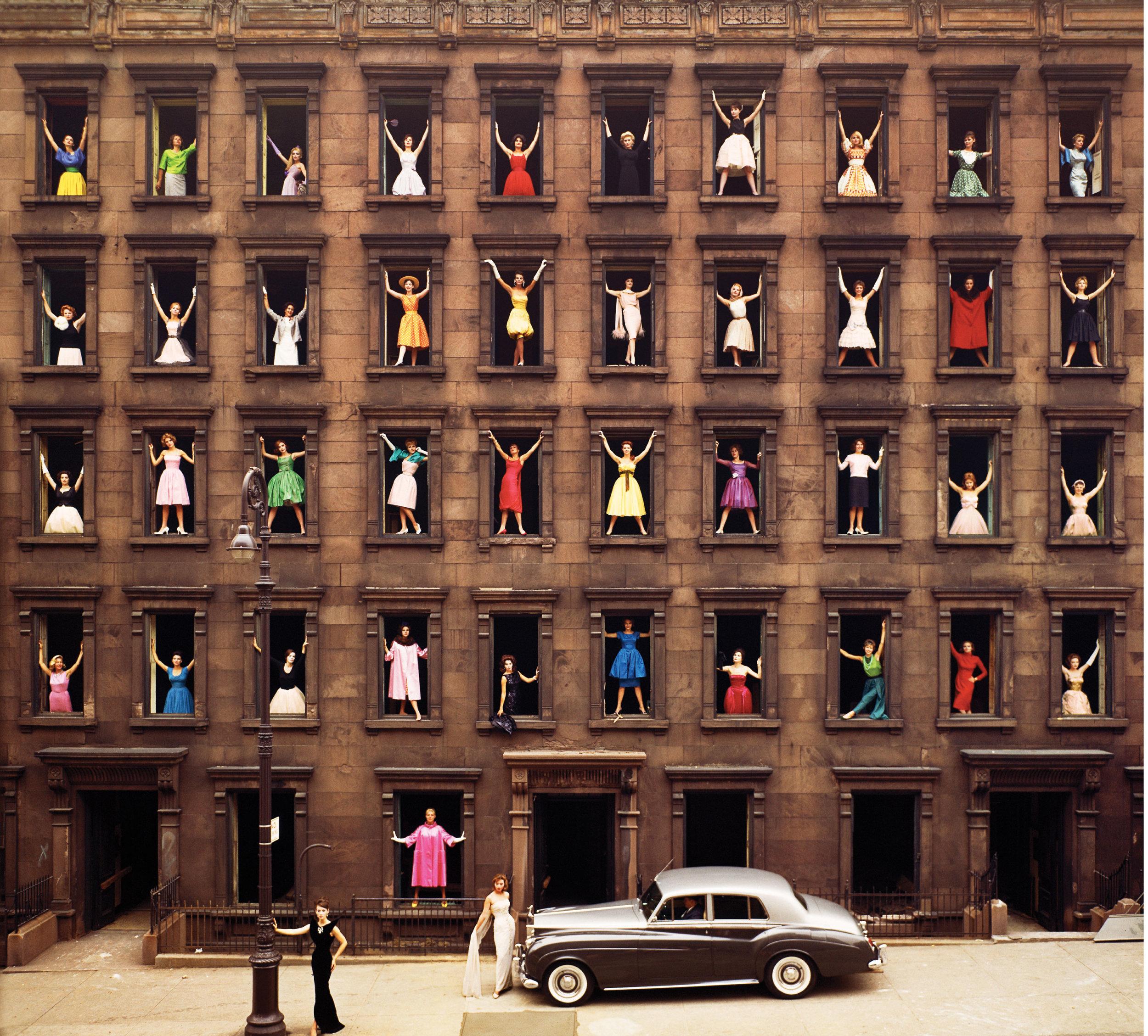 Ormond Gigli, Girls in the Windows, 1960