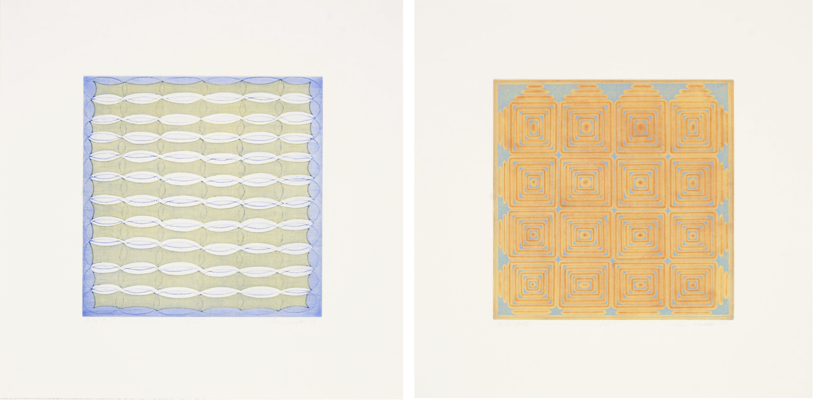 Dan Walsh, Folio B (Plate I and III), 2010
