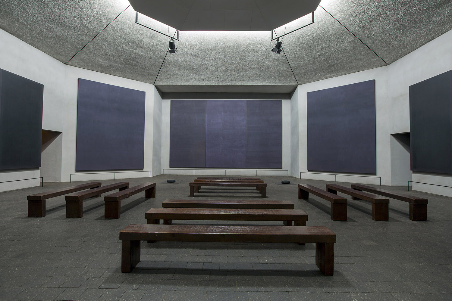 Mark Rothko, Rothko Chapel Paintings, 1964 - 1967