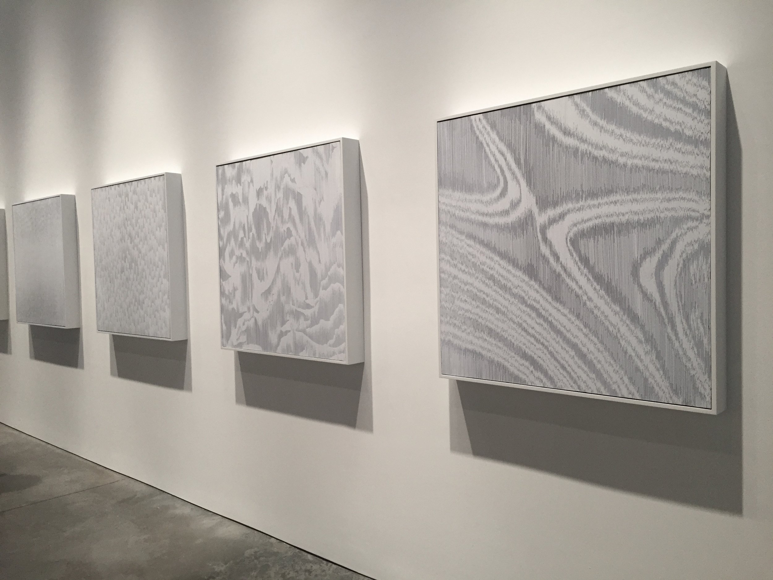 Tara Donovan, Installation View, Pace Gallery (February 17, 2017 – March 18, 2017)