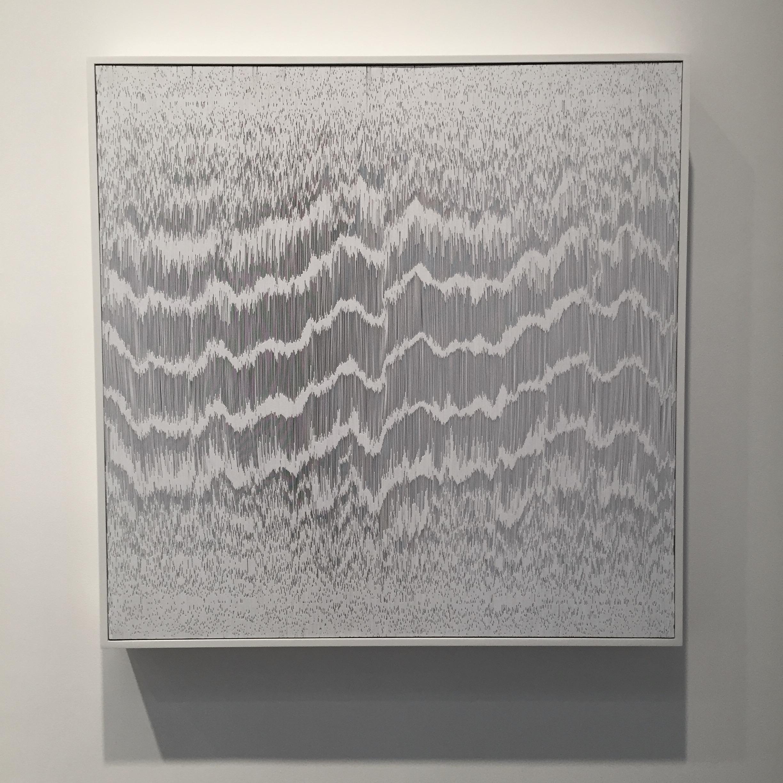Tara Donovan, Composition (Cards), 2017