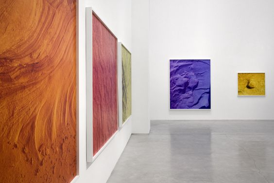 David Benjamin Sherry, Installation shot, Salon94
