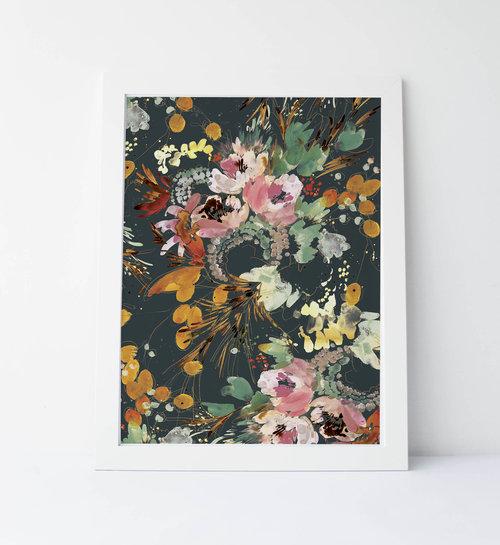 Kelly Ventura, Garden Bouquet, 2017 (print)