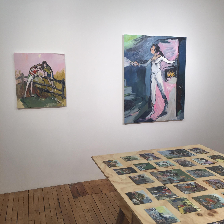 Jane Corrigan, Installation view, Marinaro Gallery