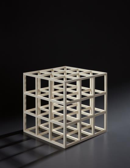 Sol LeWitt, Cube, 1979, Estimate: $15,000 - 25,000