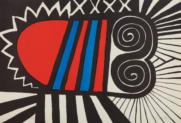 Alexander Calder, Papoose, 1969, Estimate: $1,800 - 2,500