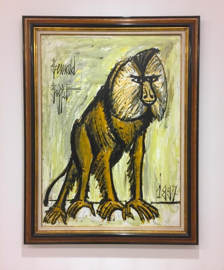 Bernard Buffet, Ceropitheque, 1997