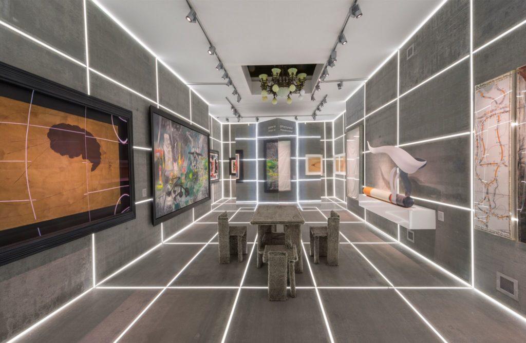 Galerie Gmurzynska Gallery Booth, Designed by Alexandre de Betak
