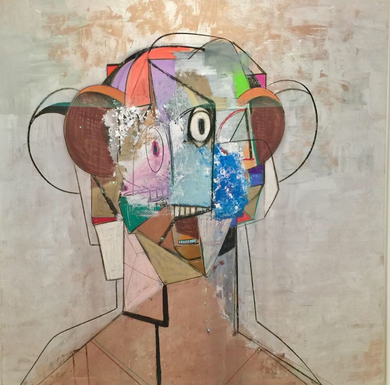 George Condo, The Pilot, 2012, Exhibited by Berggruen Gallery