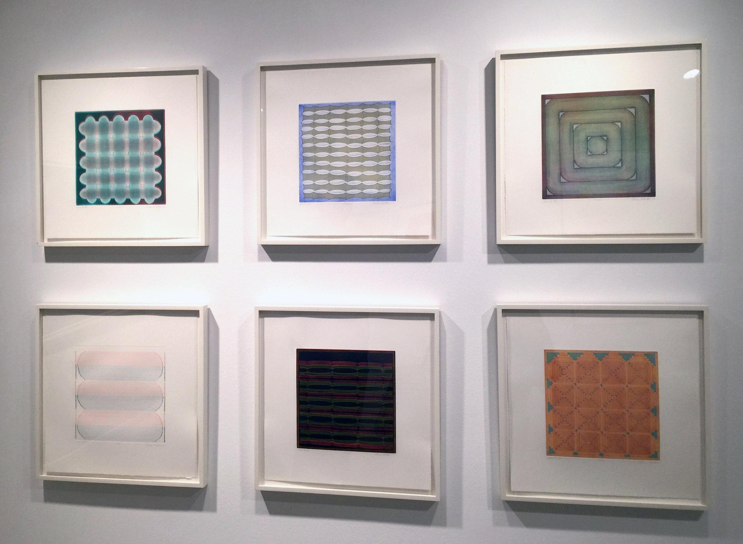 Dan Walsh, Folio B, 2010, Installation shot