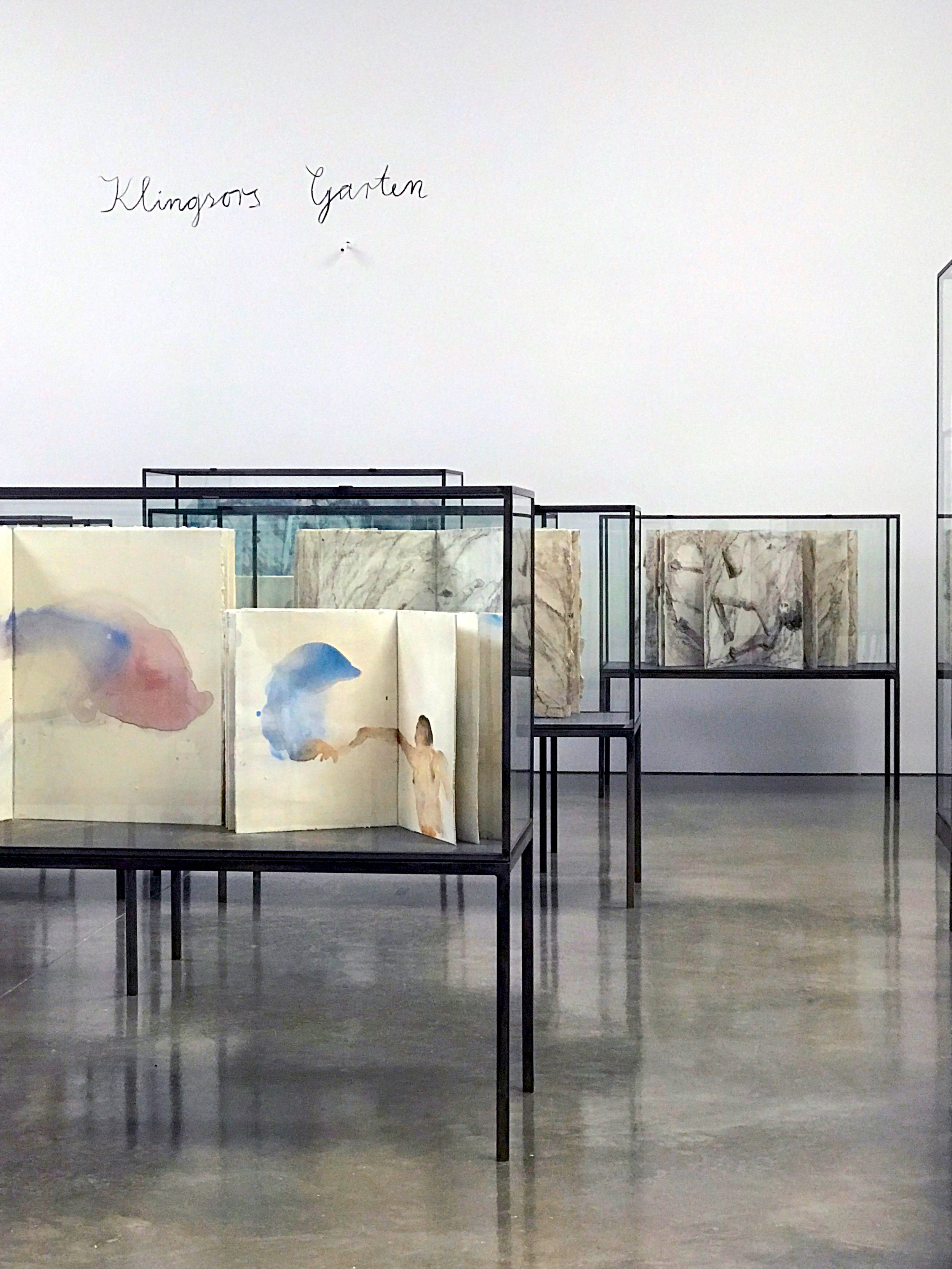 Anselm Kiefer: Transition from Cool to Warm, Installation View, Gagosian Gallery