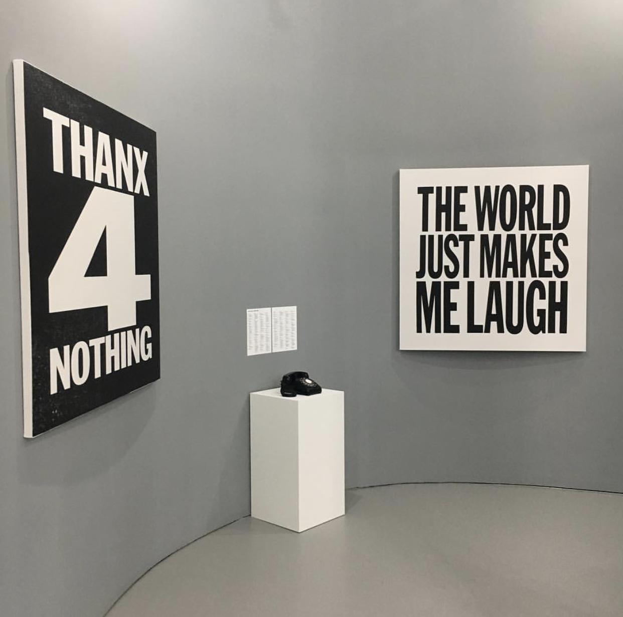 John Giorno, I <3 John Giorno Installation View, Red Bull Studios