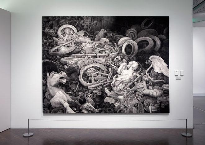 Joseph Stashkevetch, Denver Museum of Art, Installation view, 2013