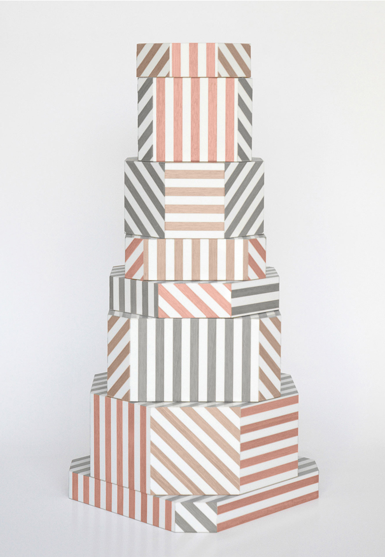 "Oeuffice, Ziggurat ""Loewen Stripes Edition, 2012"