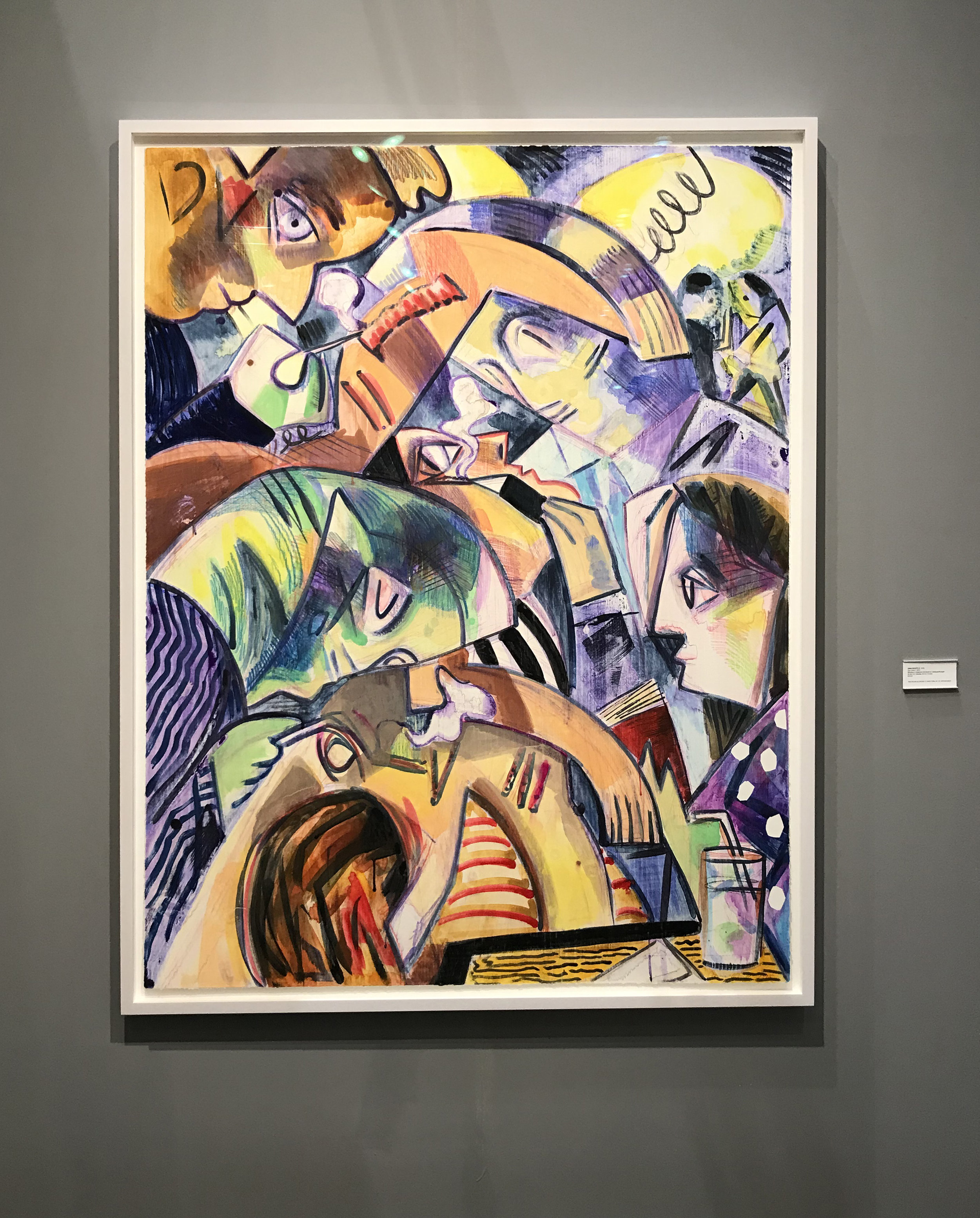 Dana Schutz exhibited by Two Palms Press