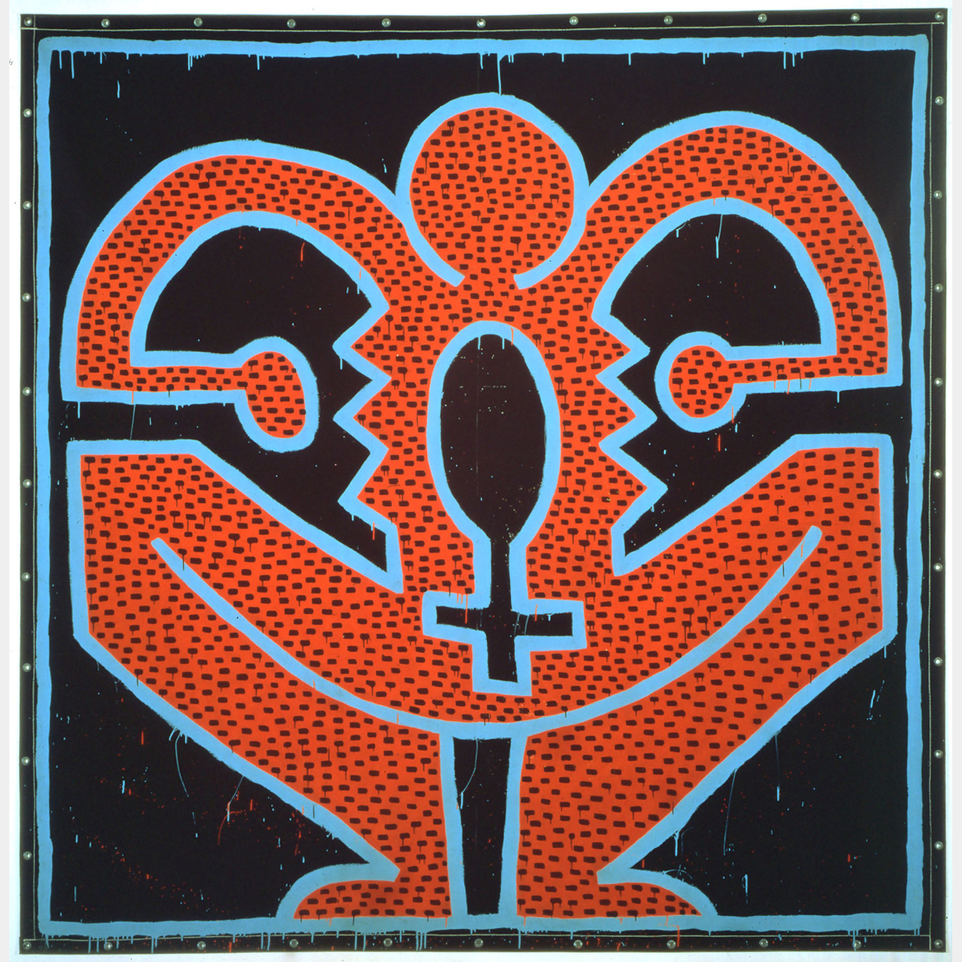 Keith Haring, Untitled, 1983 at Christie's Evening Sale