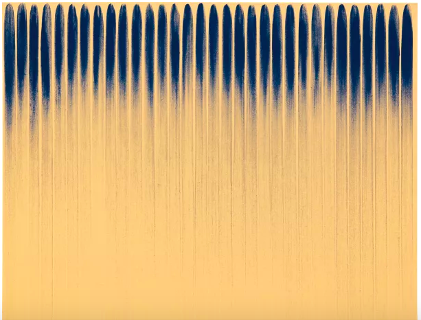 Lee Ufan, From line No. 800152, 1980 at Phillips Evening Sale