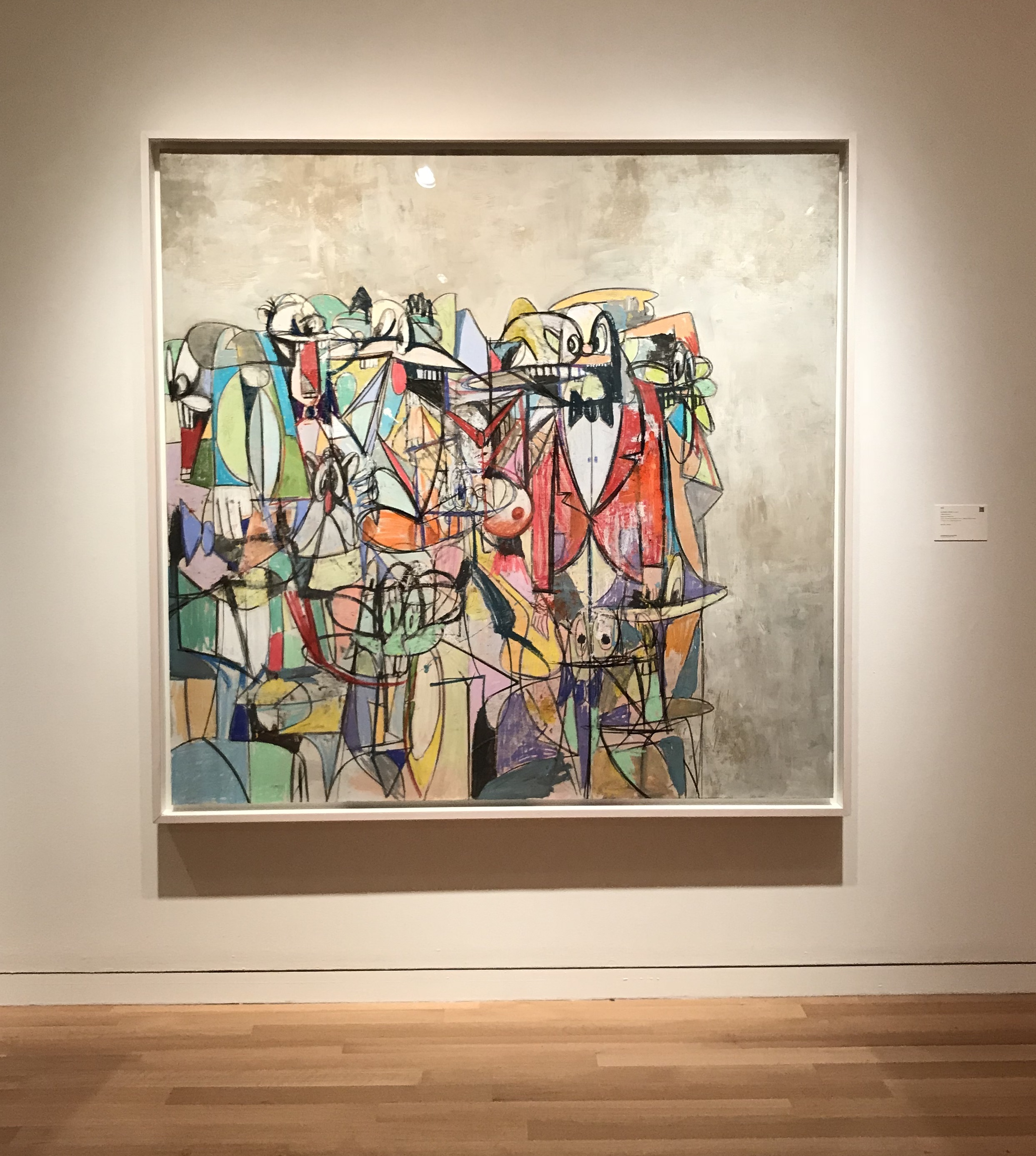 George Condo, Compression IV, 2011 at Sotheby's Day Sale