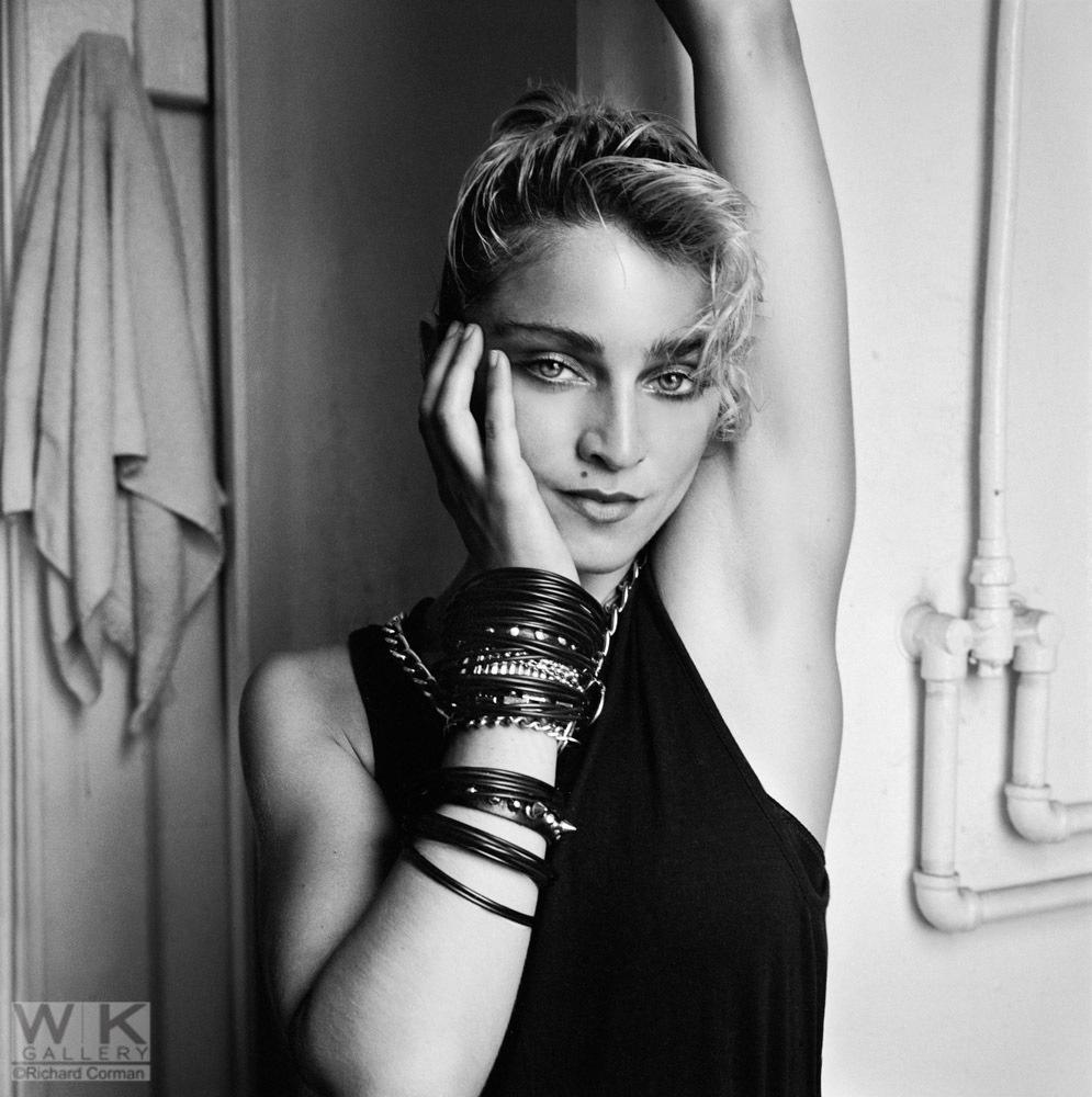 Richard Corman,Madonna Bathroom #1, 1983