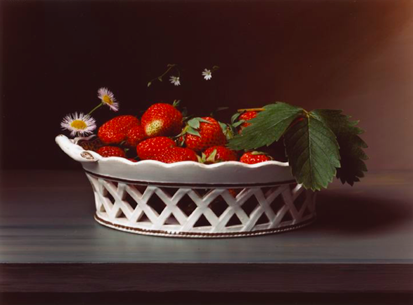 Sharon Core,   Early American, Strawberries, 2009