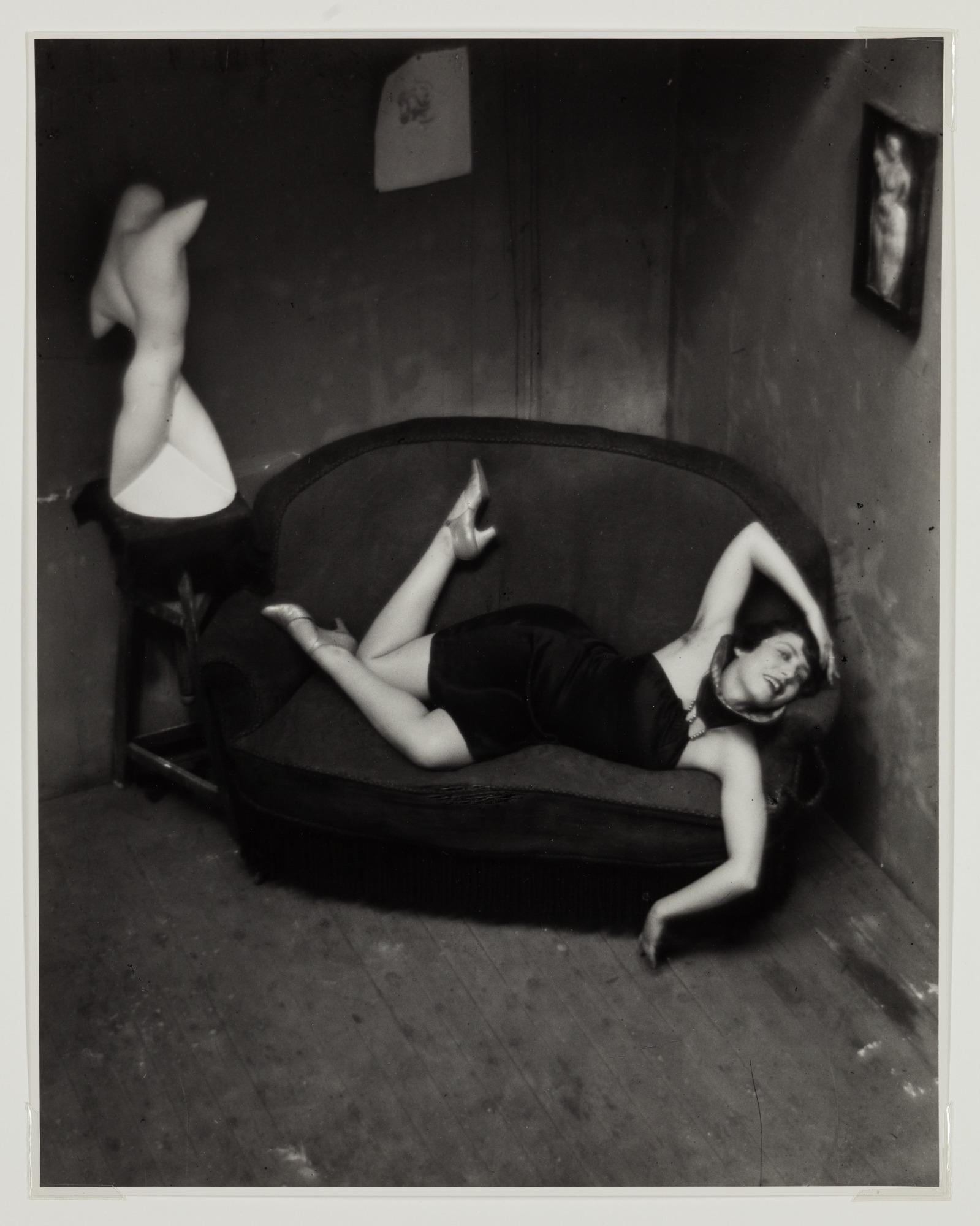 André Kertész, Satiric Dancer, Paris, 1926