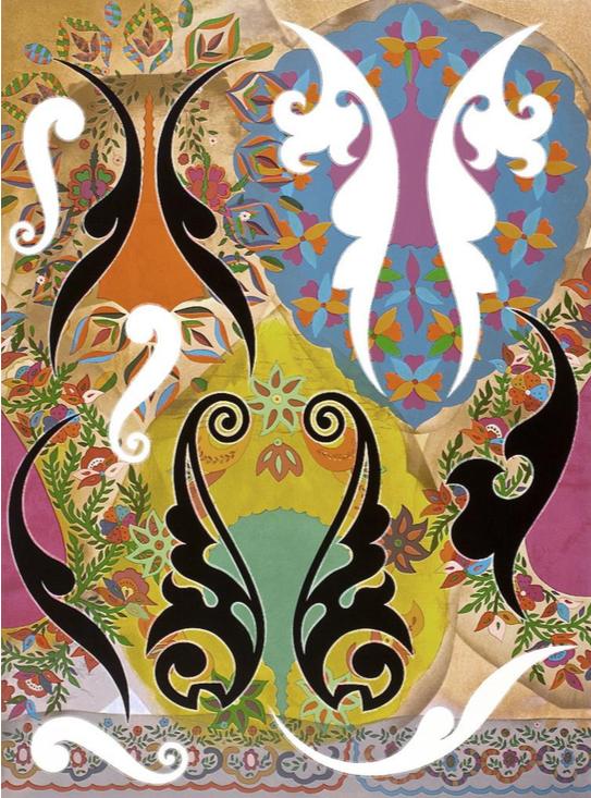 Phillip Taaffe, Ornamental Panel II, 2011