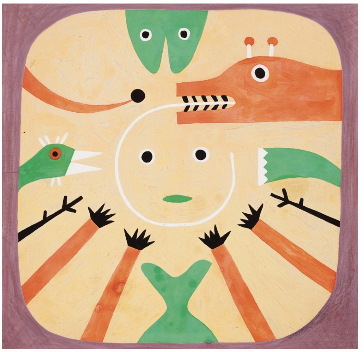 Victor Brauner, Untitled, 1951