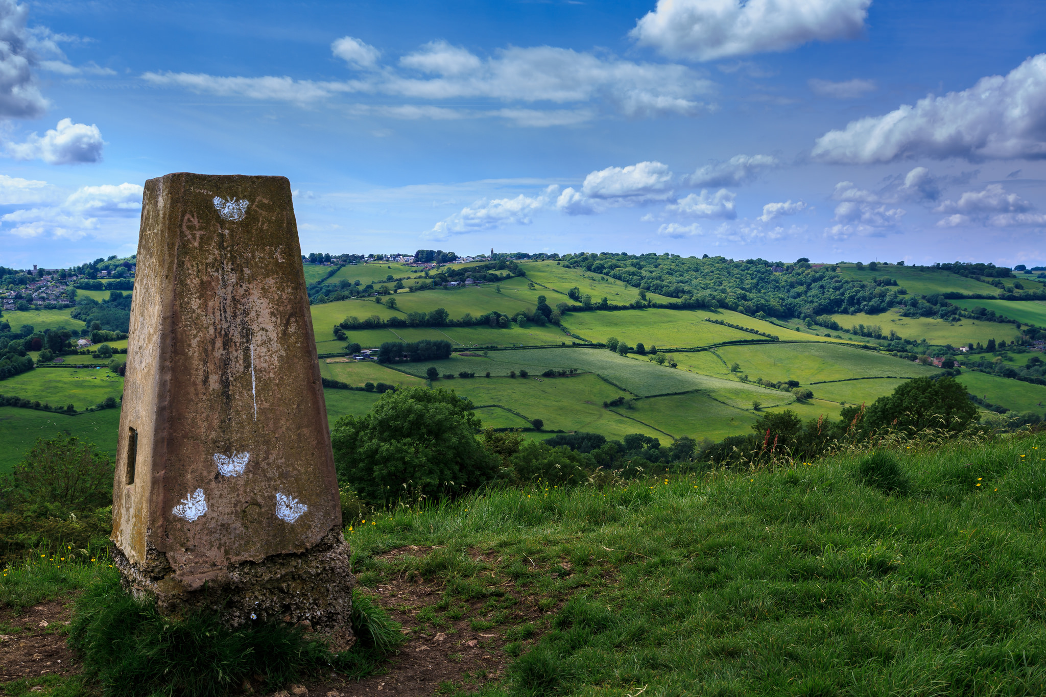 Solsbury Hill May 2014, photo by Casey Johnson