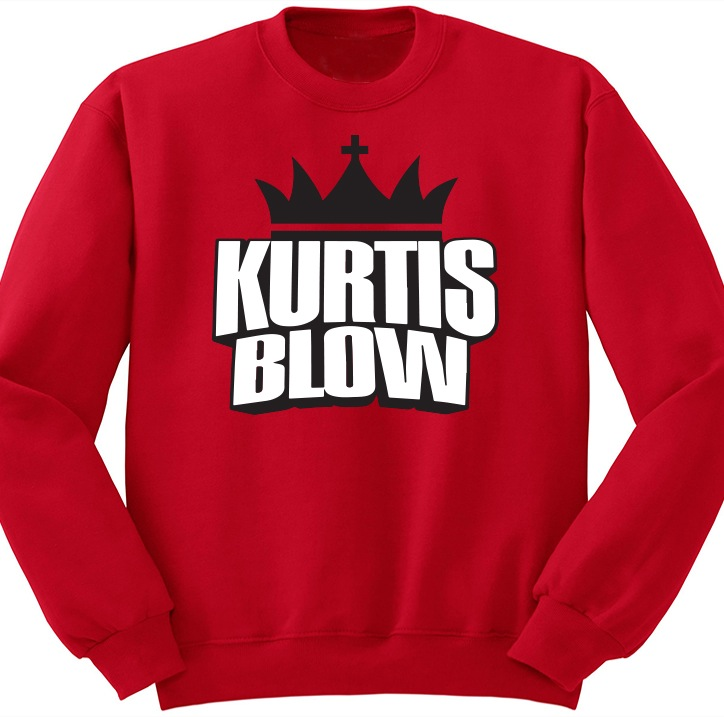 Kurtis Blow Logo Crewneck Red