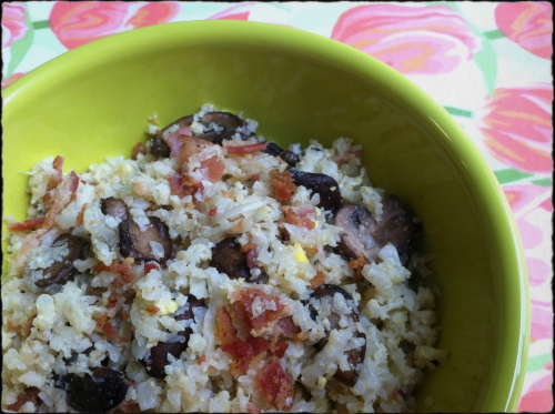 Cauliflower Breakfast Rice