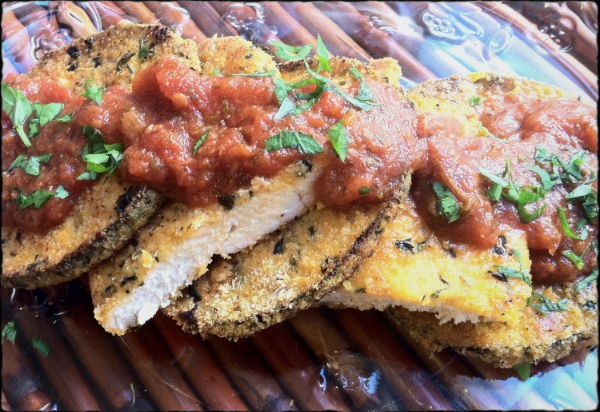 Chicken and Eggplant Parm
