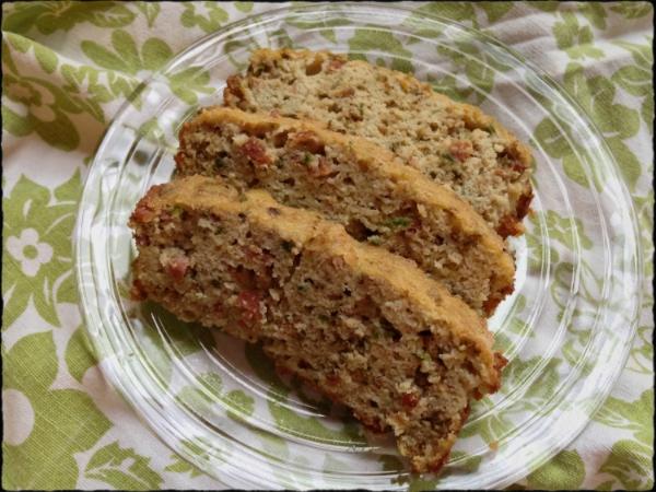 Paleo Bacon Jalapeno Bread