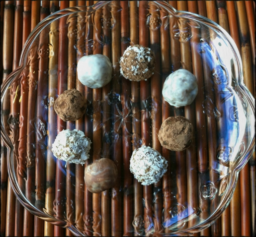 Coconut & Date Bon Bons