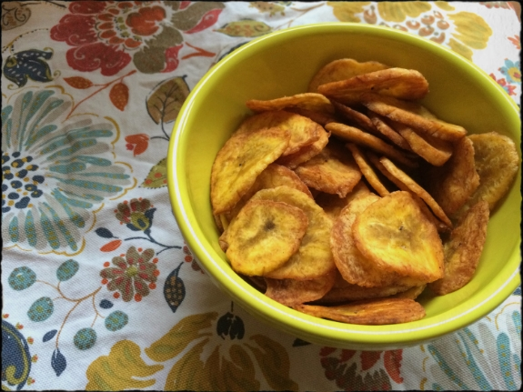 Plantain Chips unsalted