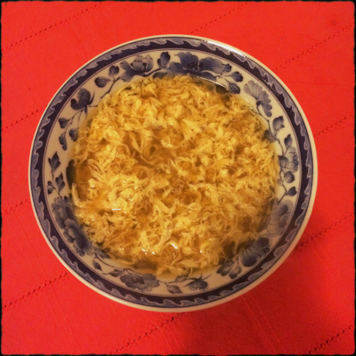 Basic Egg Drop Soup