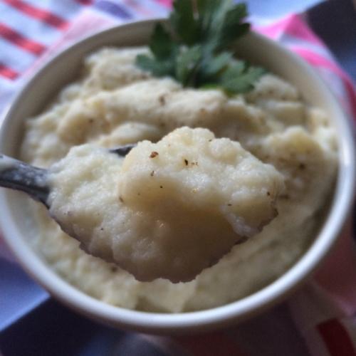 Cauliflower and Turnip Mash