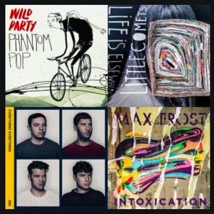 April 2016 Playlist