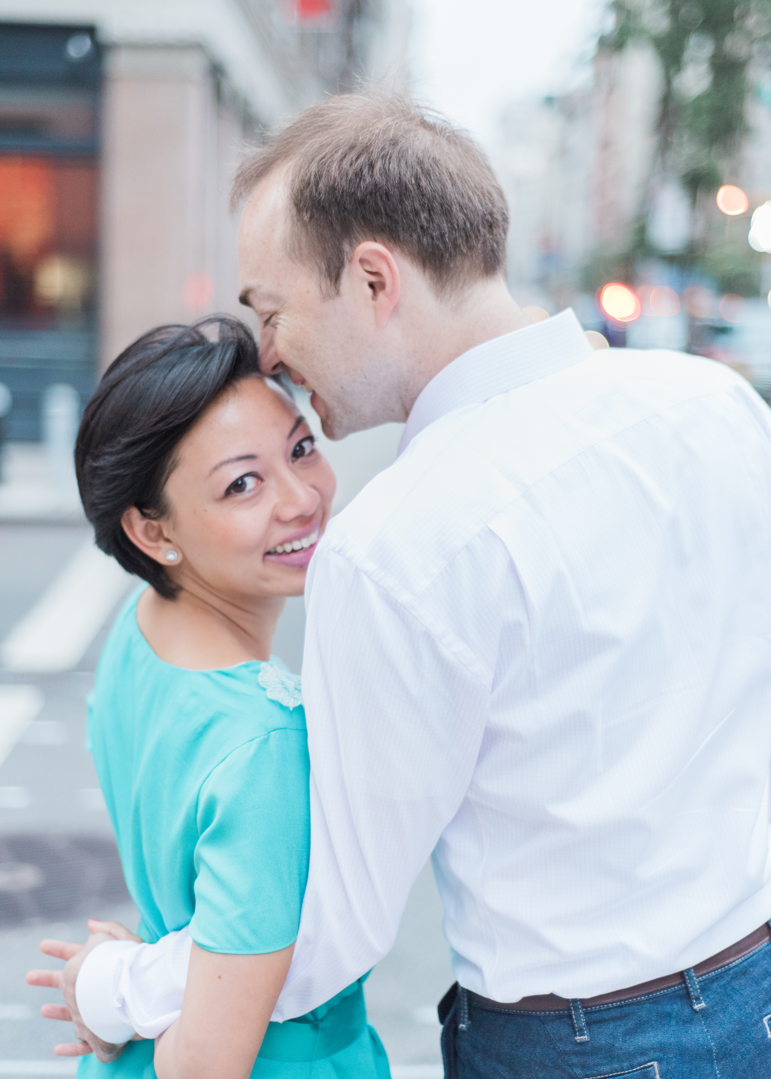 BLK chai Photography | New York City Engagement Photographer