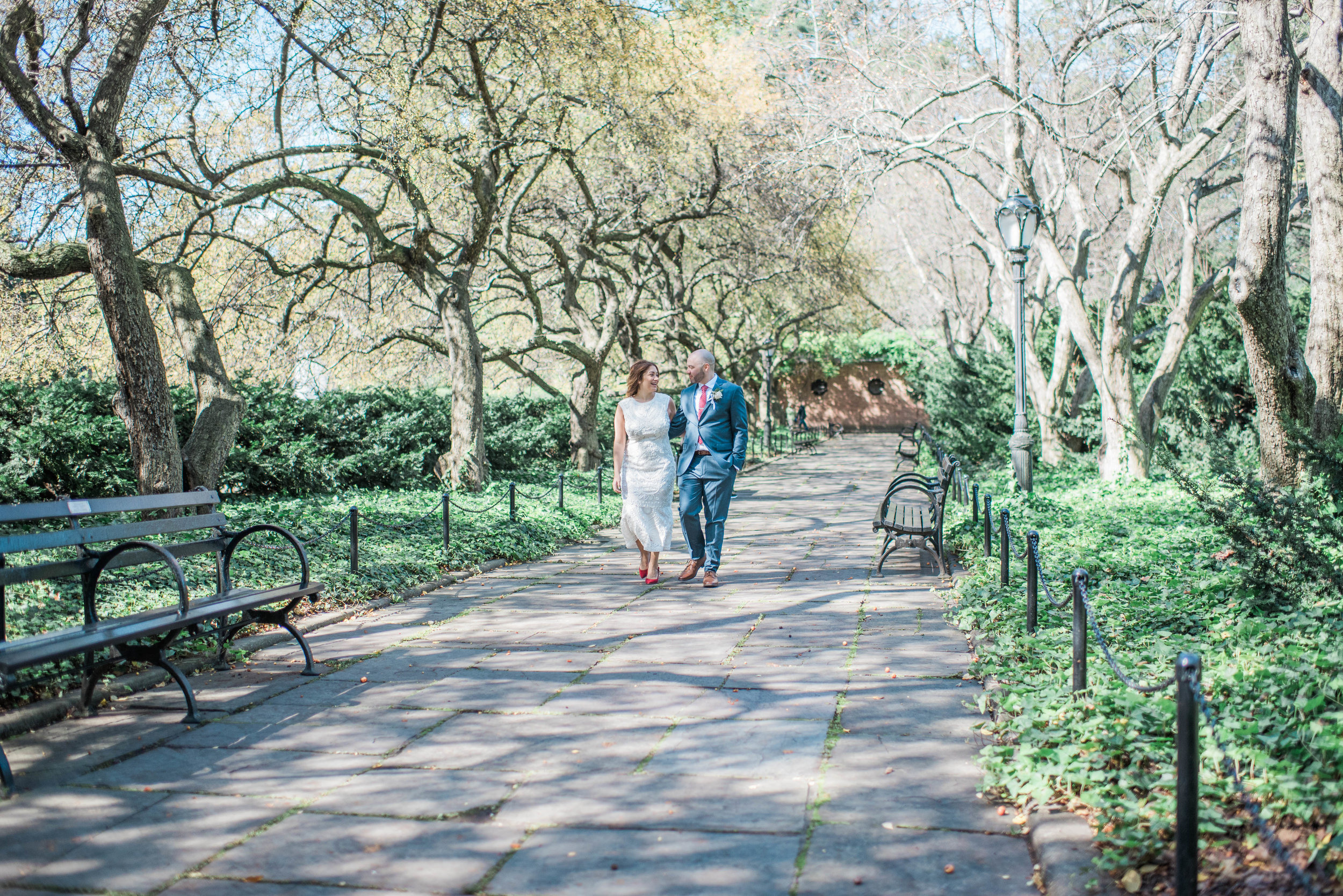 Central Park Conservatory Garden Wedding