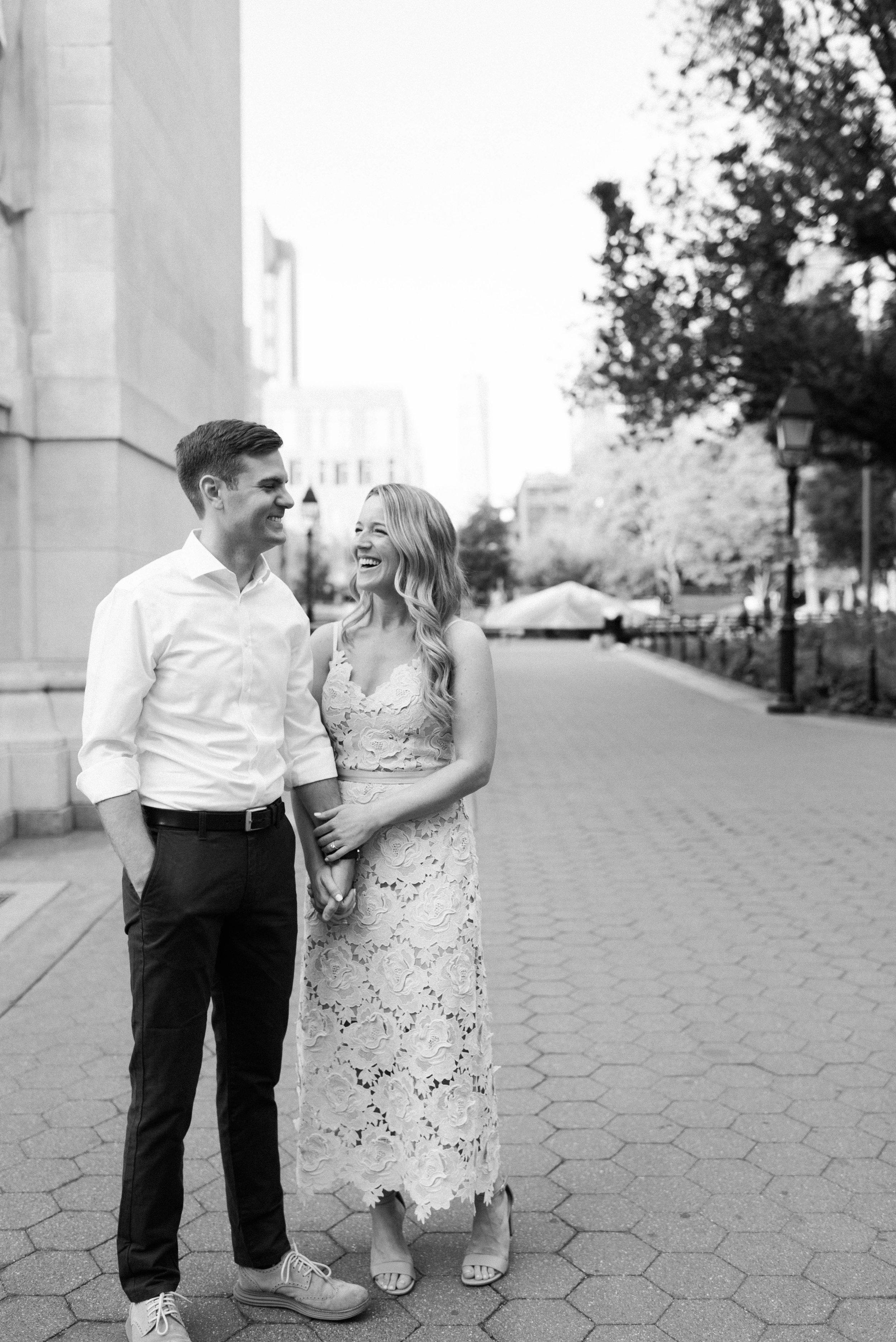 West Village Engagement Photographer