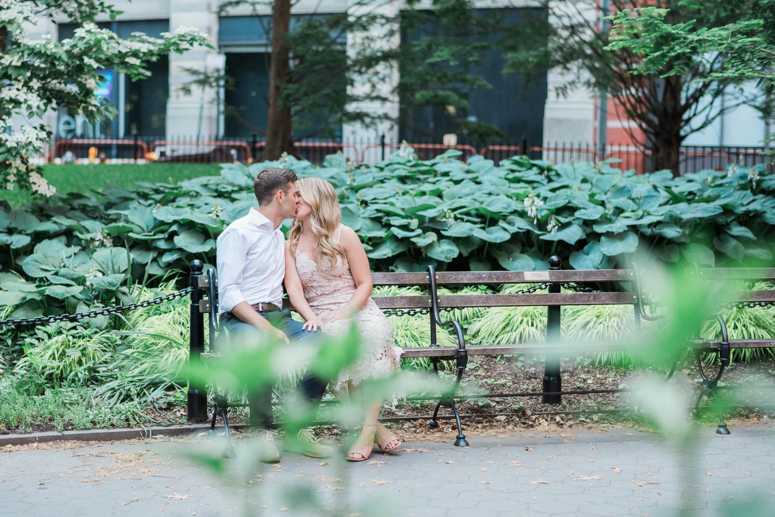 Washington Square Park Engagement