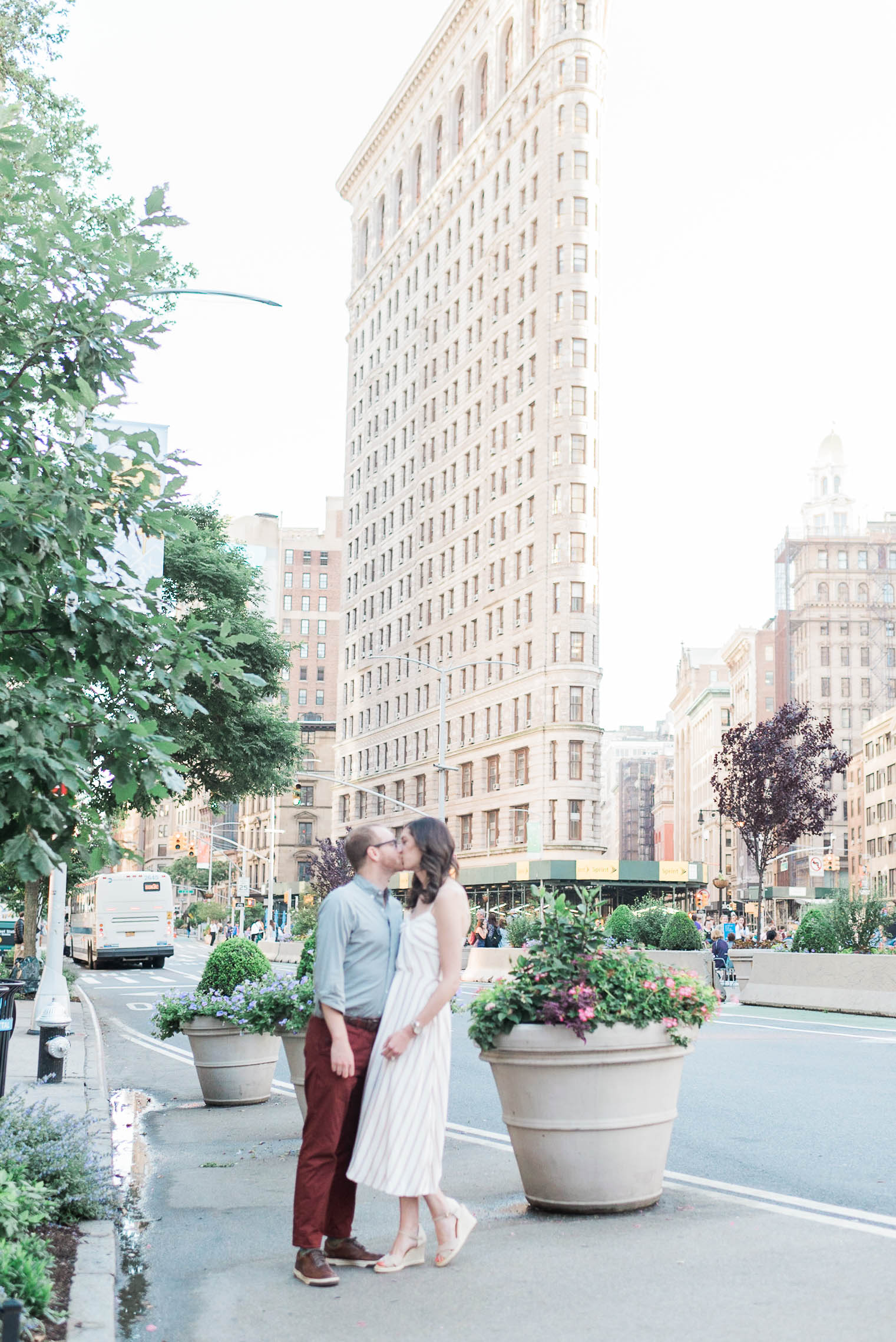 Flatiron engagement session