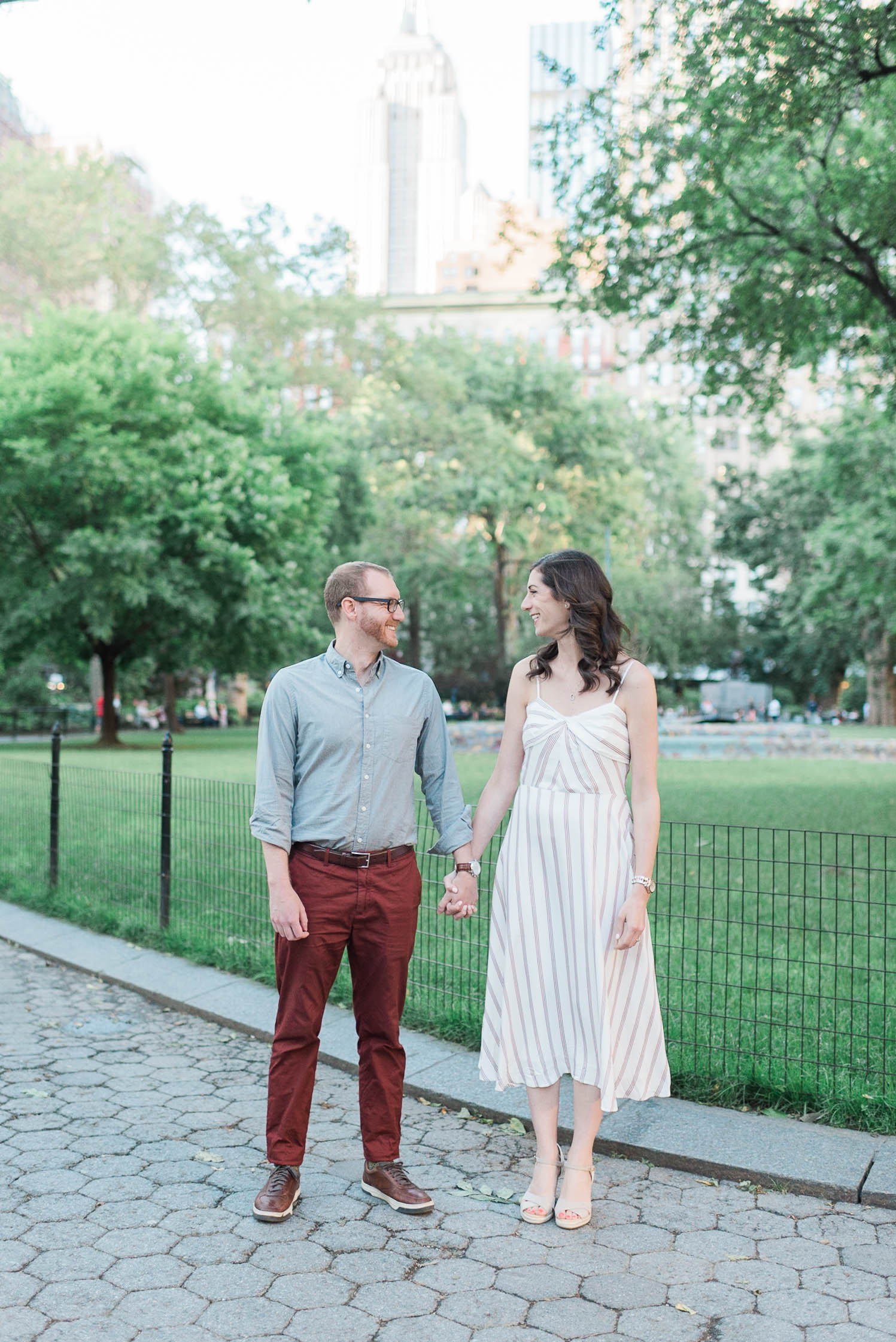 Madison Square Park Engagement session
