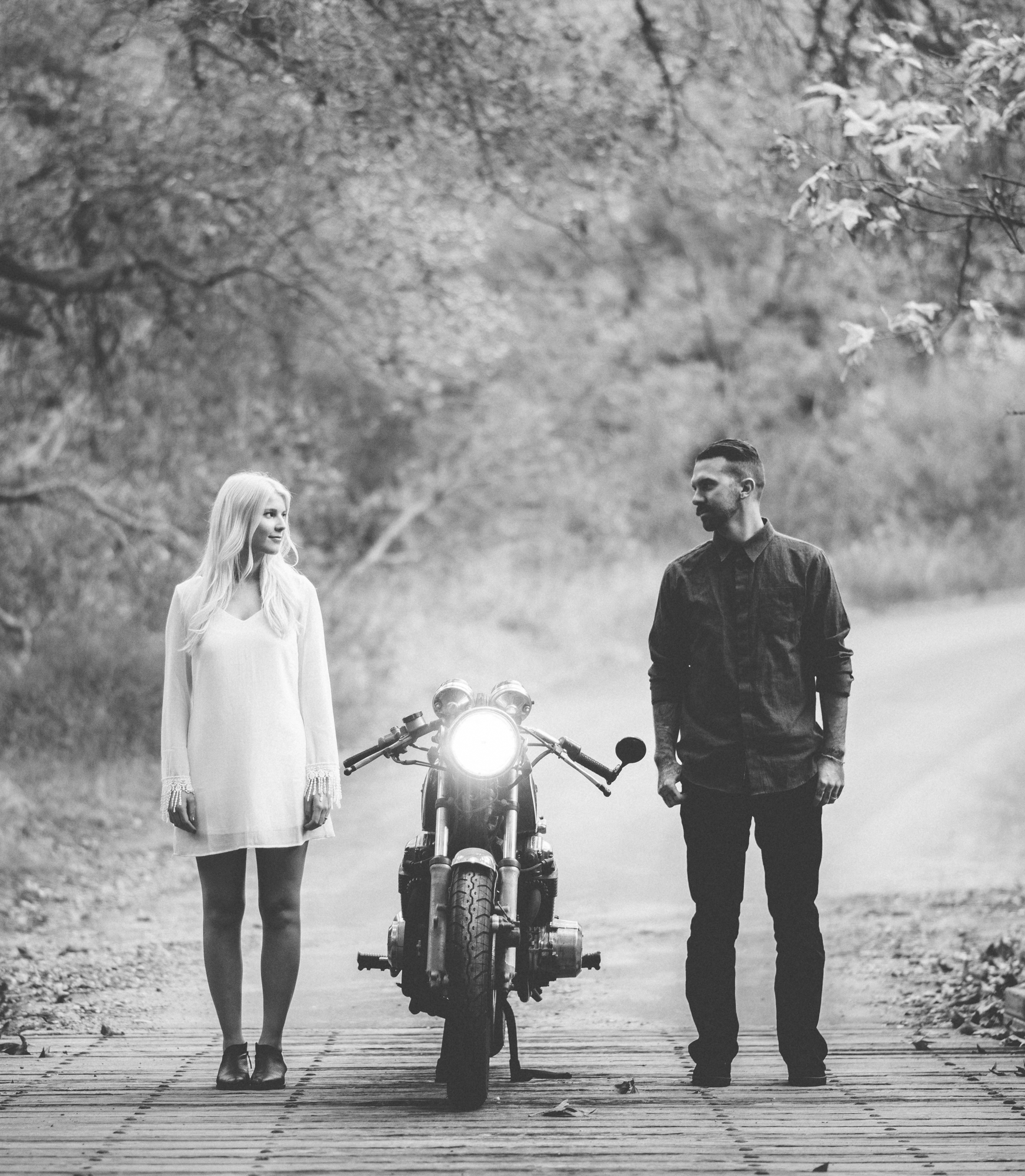 ©Isaiah & Taylor Photography - Destination Wedding Photographers - Downtown Forest Motorcycle Engagement -025.jpg