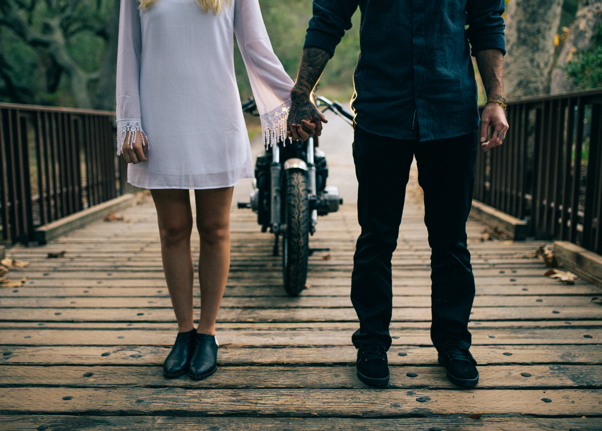 ©Isaiah & Taylor Photography - Destination Wedding Photographers - Downtown Forest Motorcycle Engagement -026.jpg