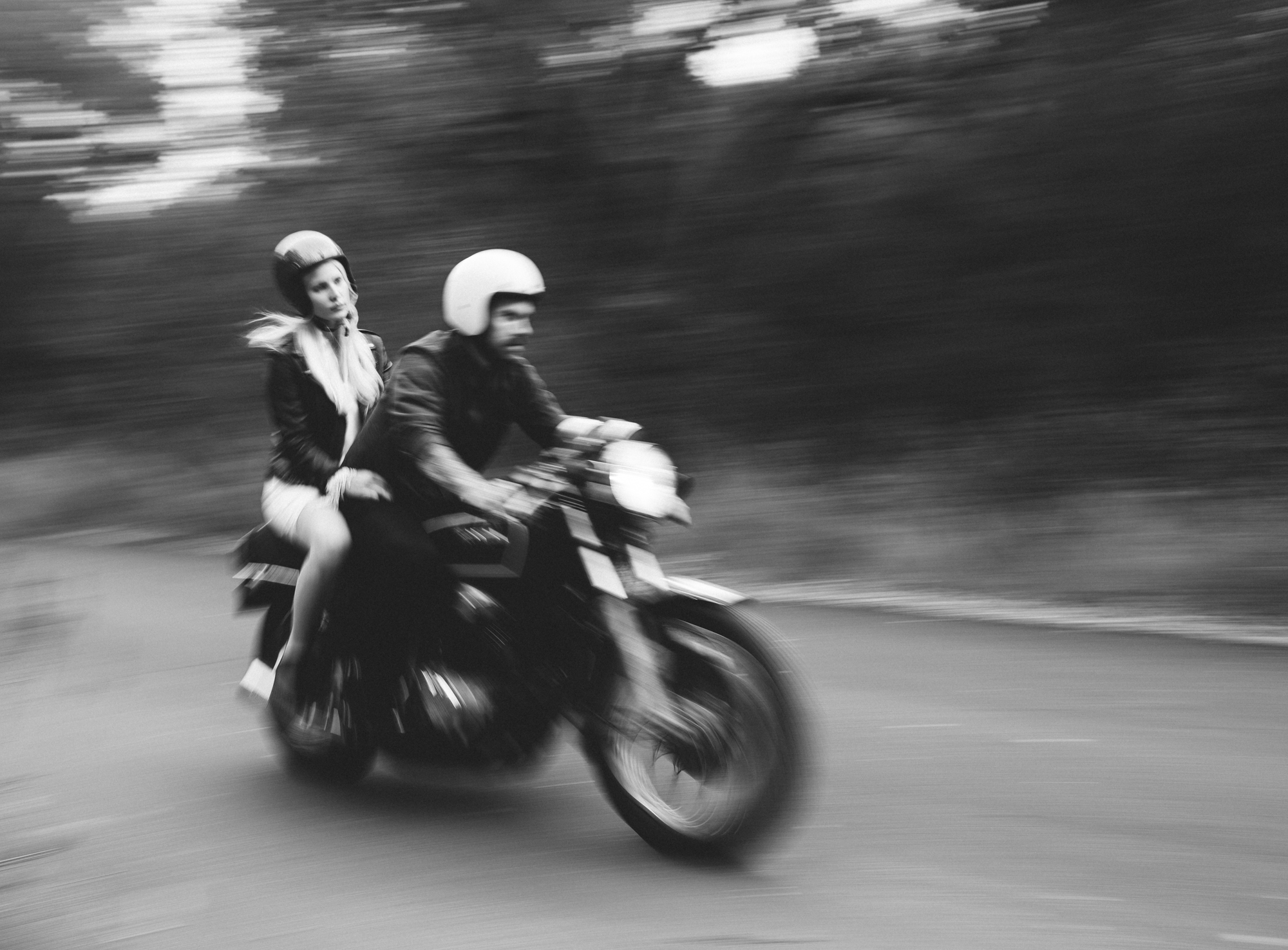 ©Isaiah & Taylor Photography - Destination Wedding Photographers - Downtown Forest Motorcycle Engagement -035.jpg