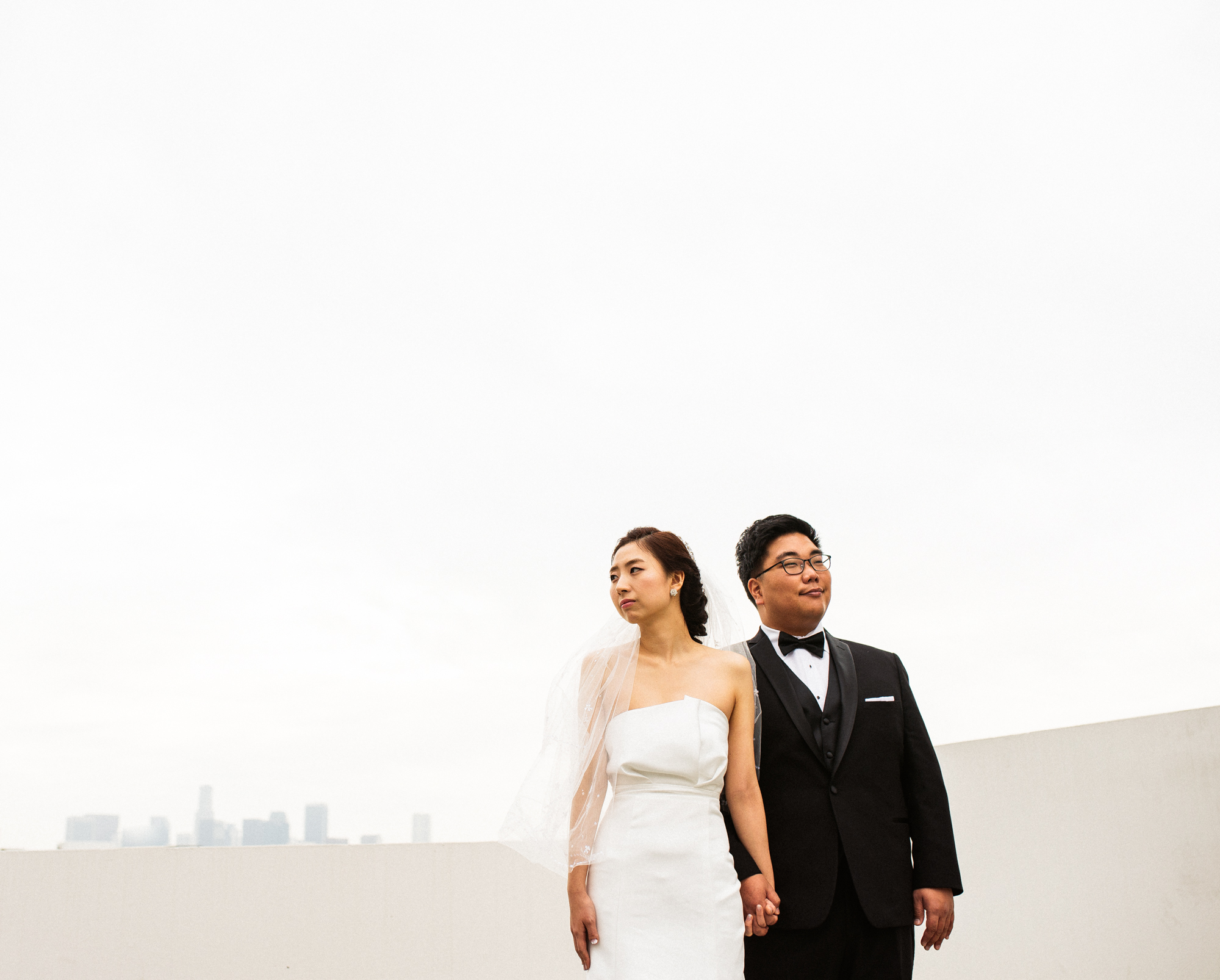 ©Isaiah & Taylor Photography - Destination Wedding Photographers - Downtown Los Angeles Parking Lot Rooftop Wedding-015.jpg