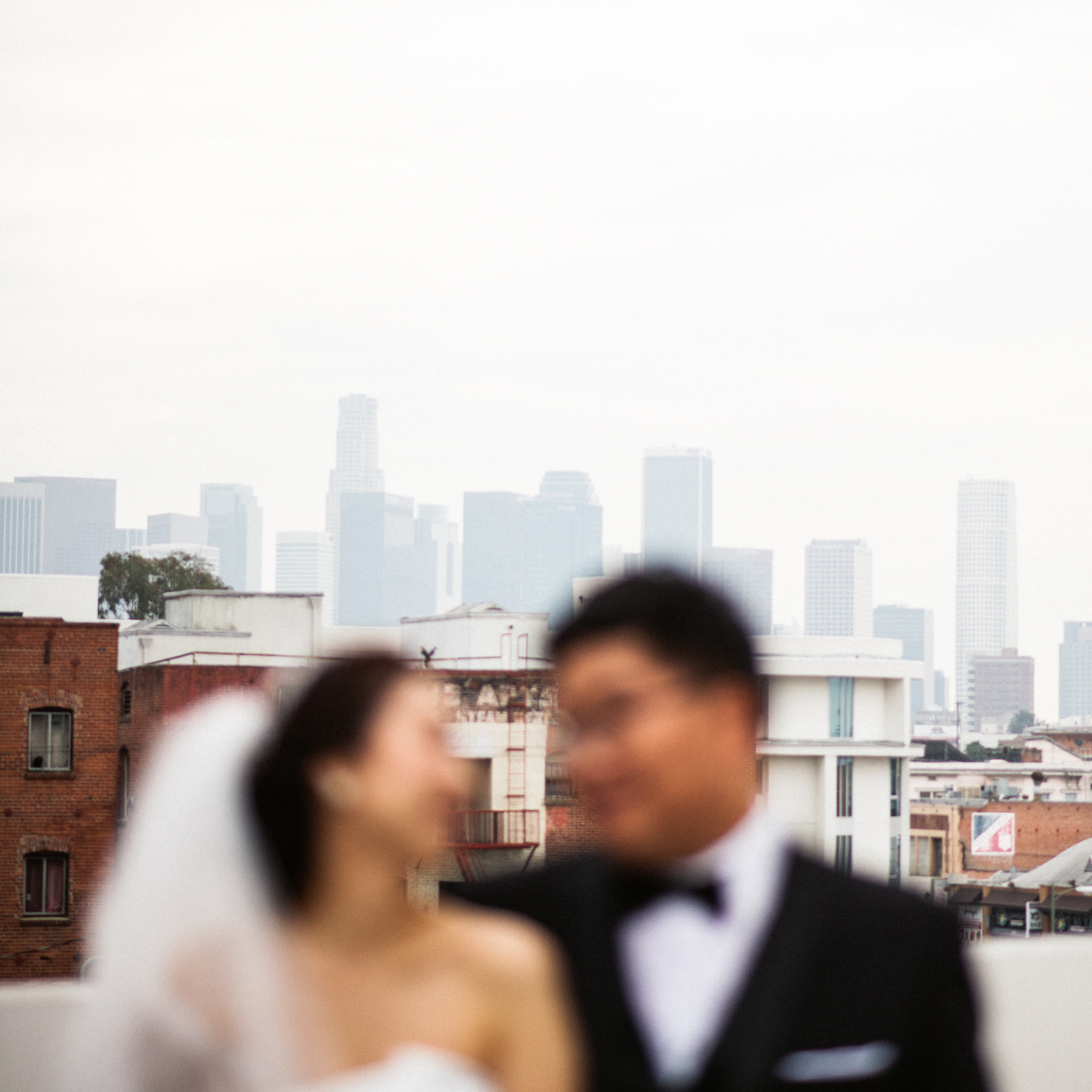 ©Isaiah & Taylor Photography - Destination Wedding Photographers - Downtown Los Angeles Parking Lot Rooftop Wedding-018.jpg