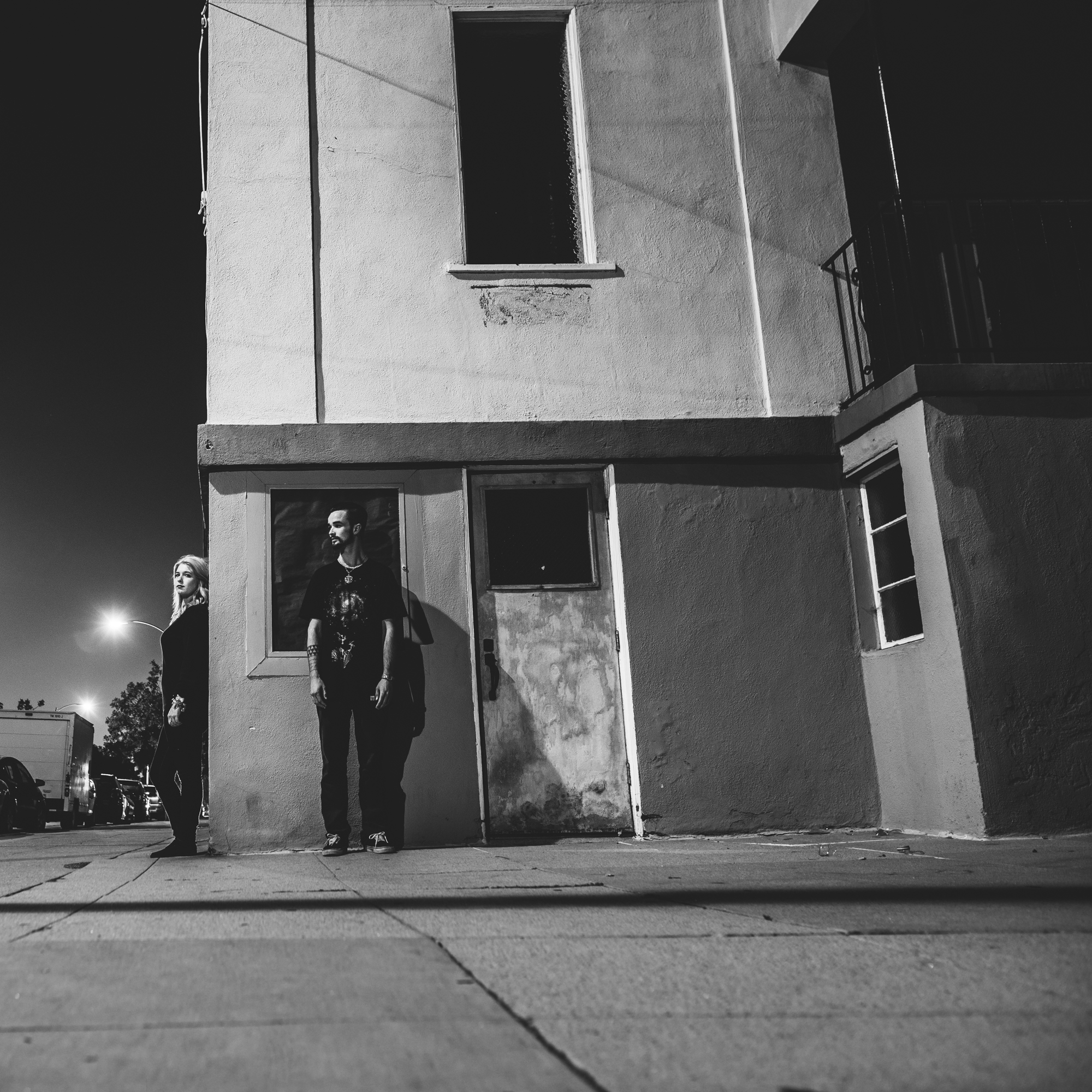 ©Isaiah & Taylor Photography - Los Angeles Engagement - Night Walk-004.jpg