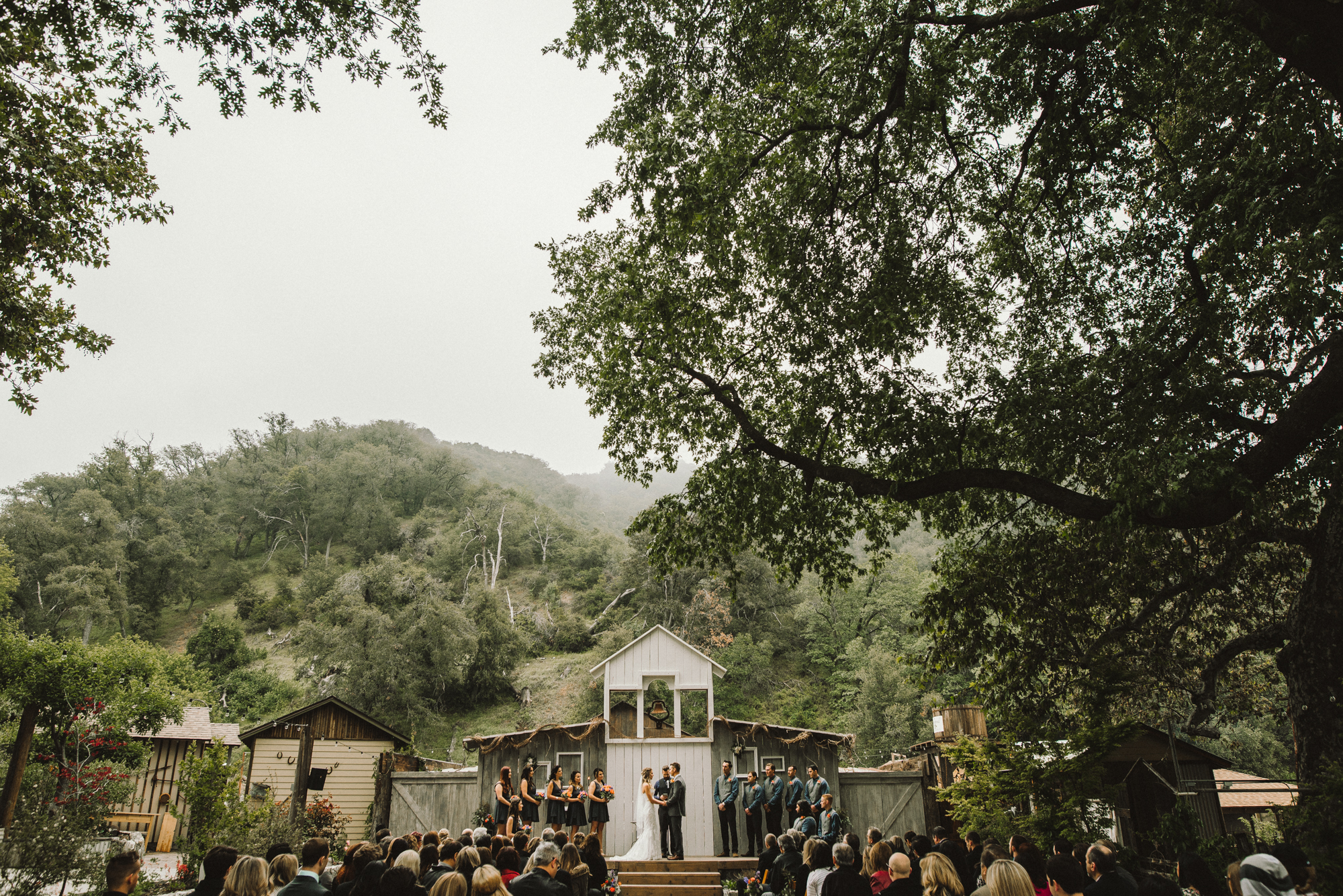 Isaiah & Taylor Photography - Los Angeles - Destination Wedding Photographers - Oak Glen Wilshire Ranch Foggy Forest Wedding-60.jpg
